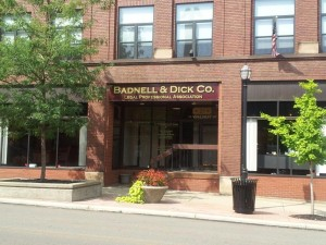 Badnell and Dick Company Mansfield Ohio Office